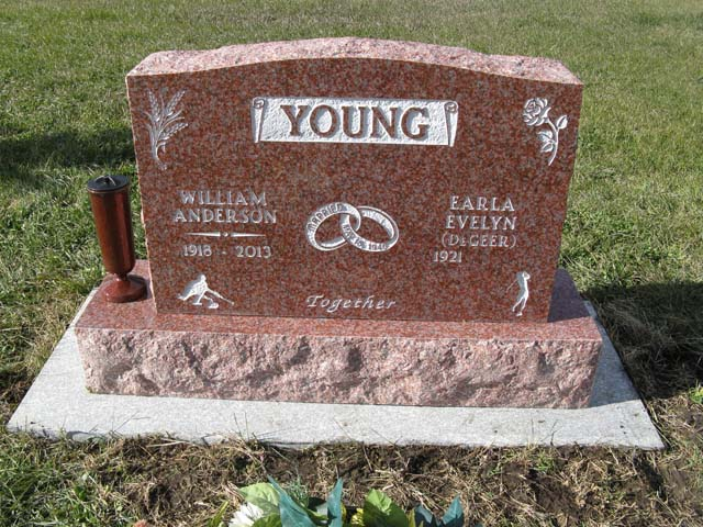 Upright style monuments are a unique way to memorialize a loved one. Stop by our shop to see our monuments.